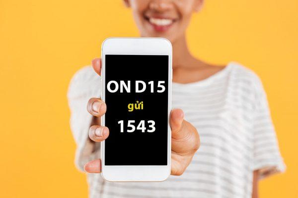 Cú pháp đăng ký gói cước Vinaphone D15